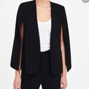 Zara cape blazer